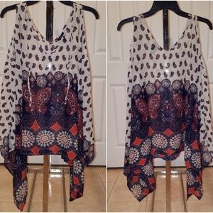 Rue21 Cold Shoulder Poncho